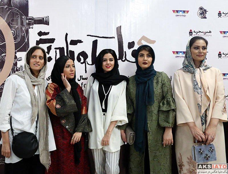 بازیگران بازیگران زن ایرانی  ماهور الوند در آیین نمایش شش فیلم کوتاه برتر (6 عکس)