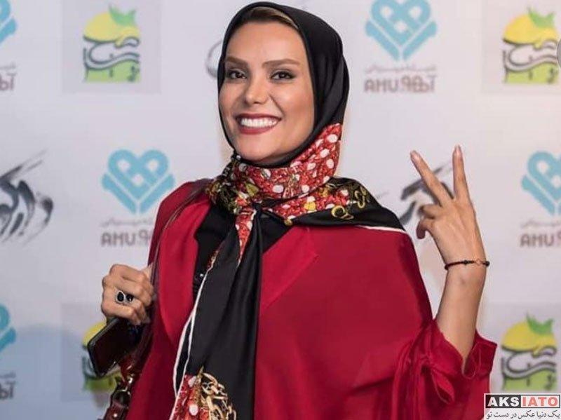 بازیگران بازیگران زن ایرانی  مهسا ایرانیان در اکران ویژه فیلم دارکوب (۴ عکس)