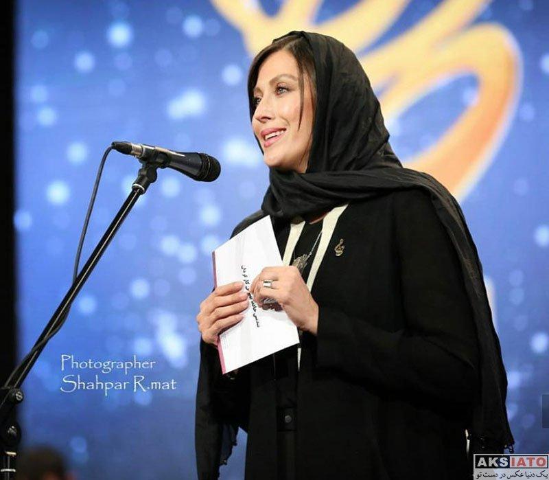 بازیگران بازیگران زن ایرانی جشن حافظ  مهتاب کرامتی در هجدهمین جشن حافظ ۹۷ (3 عکس)