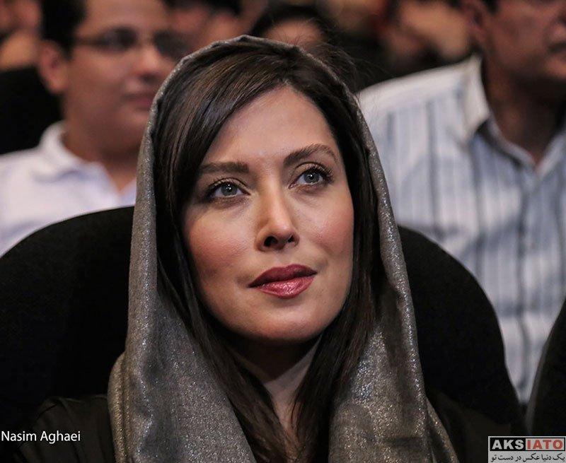 بازیگران بازیگران زن ایرانی  مهتاب کرامتی در بزرگداشت بیستمین جشن سینمای ایران (۴ عکس)