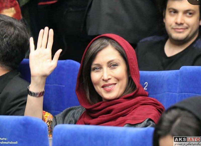 بازیگران بازیگران زن ایرانی  مهتاب کرامتی در آیین نمایش شش فیلم کوتاه برتر (6 عکس)