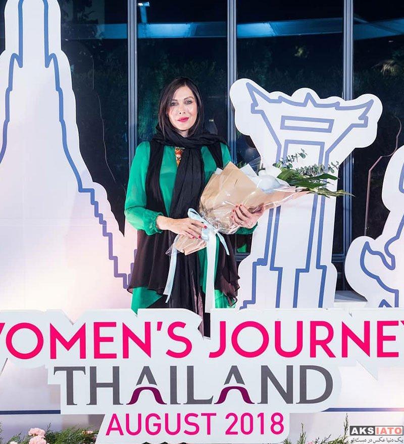 بازیگران بازیگران زن ایرانی  مهتاب کرامتی در مراسم تجليل از زنان تاثيرگذار در تايلند (4 عکس)