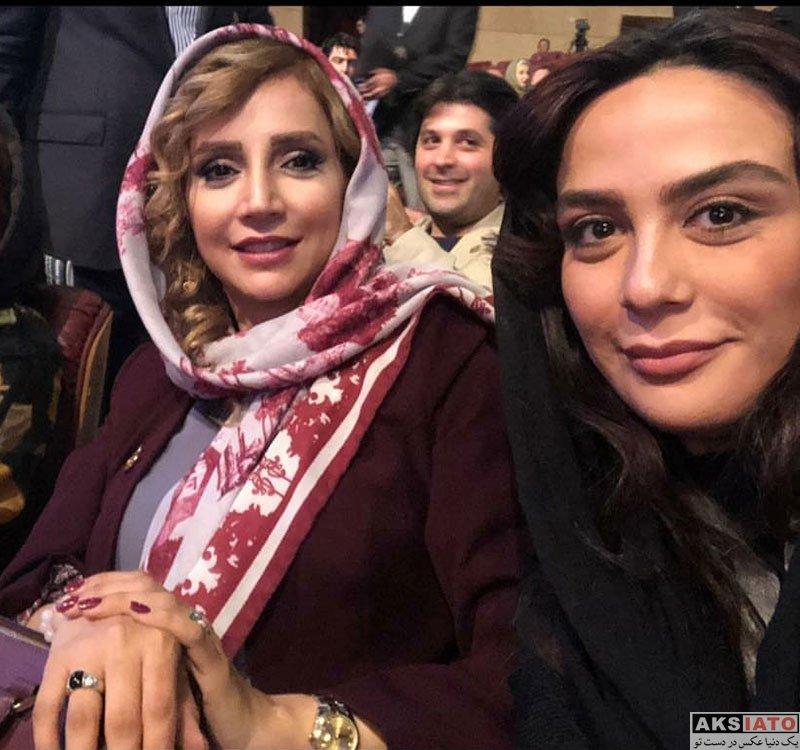 بازیگران بازیگران زن ایرانی جشن حافظ  مارال فرجاد در هجدهمین جشن حافظ ۹۷ (۳ عکس)