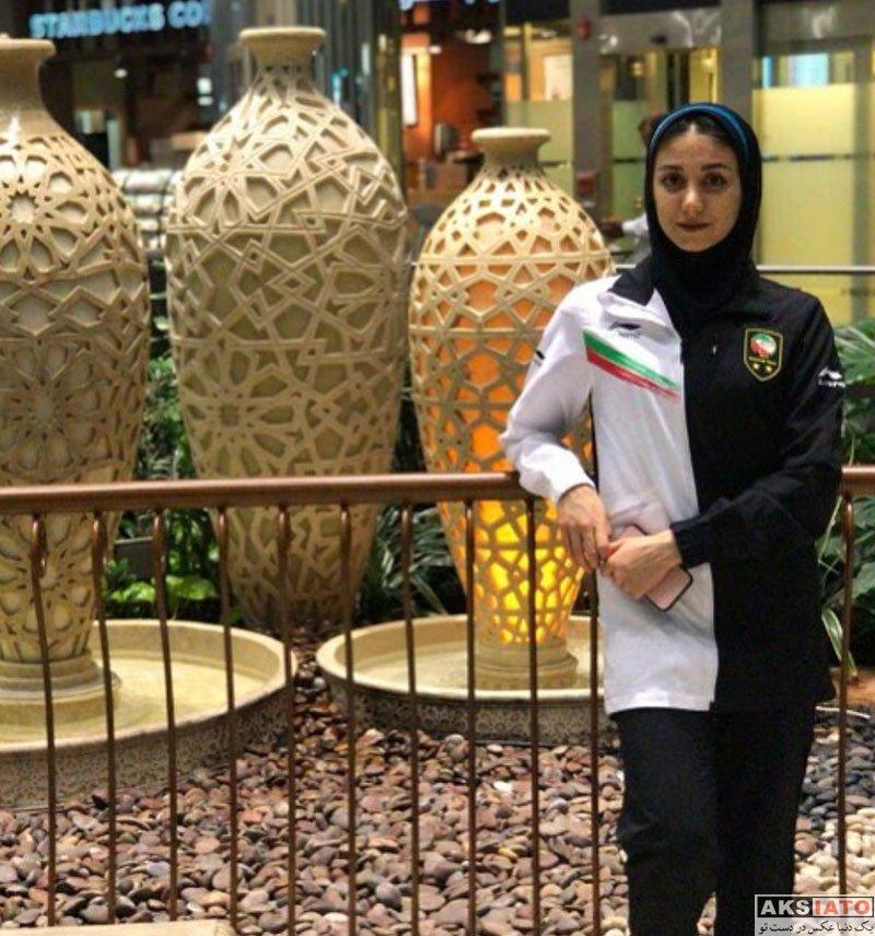 ورزشکاران ورزشکاران زن  مرجان سلحشوری نایب قهرمان تکواندوی آسیا (6 عکس)