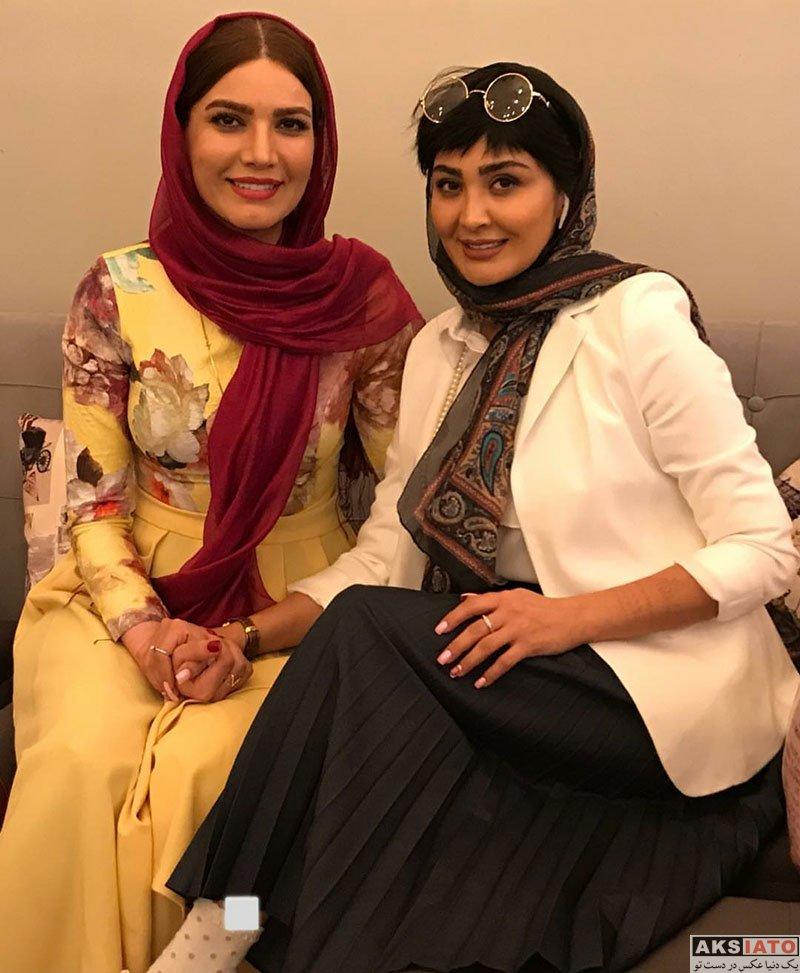 بازیگران بازیگران زن ایرانی  مریم معصومی در اجرای نمایش فصل شکار بادبادک ها (4 عکس)