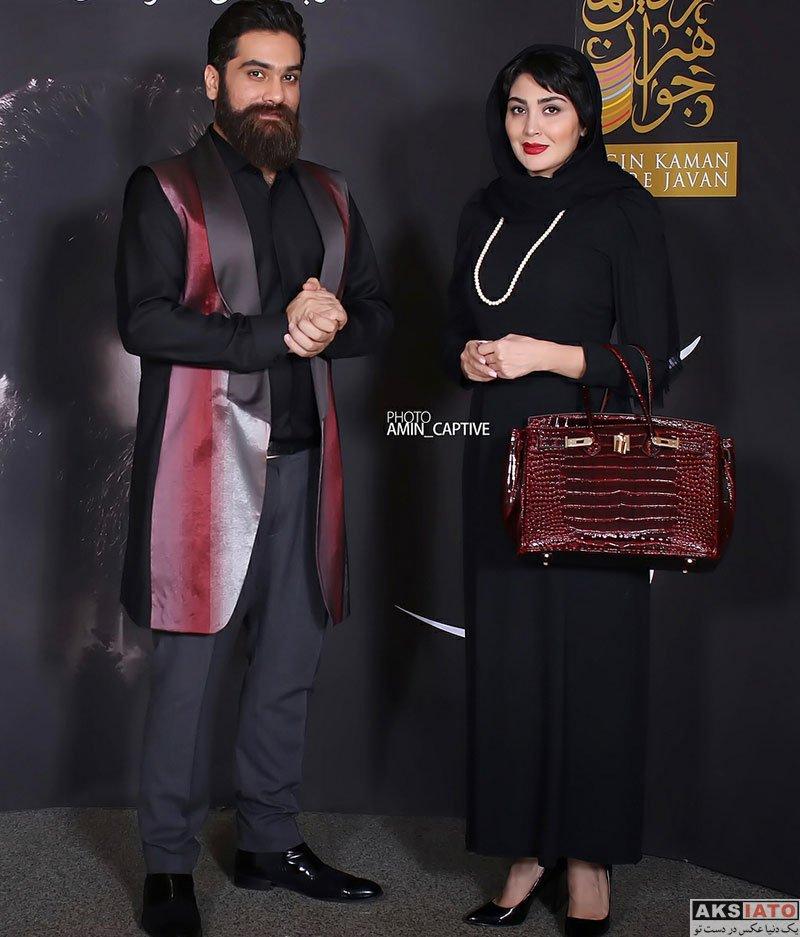 بازیگران بازیگران زن ایرانی  مریم معصومی در کنسرت علی زند وکیلی (2 عکس)