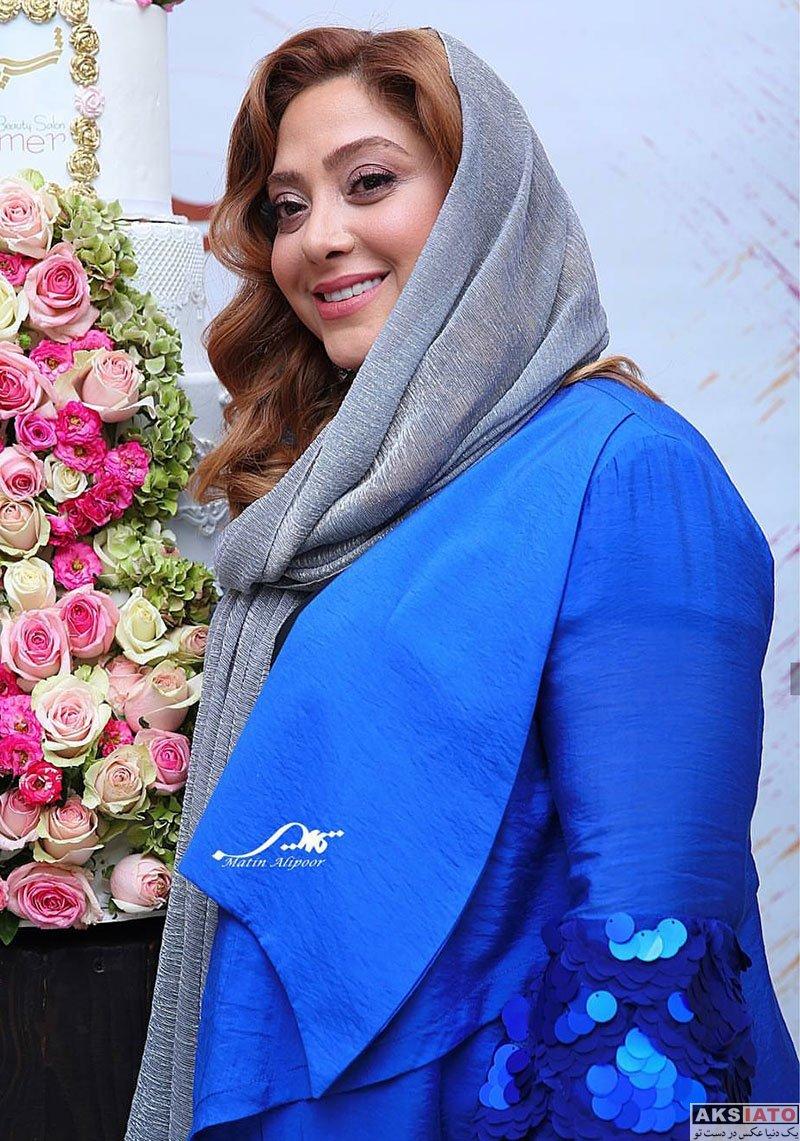 بازیگران بازیگران زن ایرانی  مریم سلطانی در افتتاحیه شعبه ۳ سالن زیبایی شیمر (6 عکس)