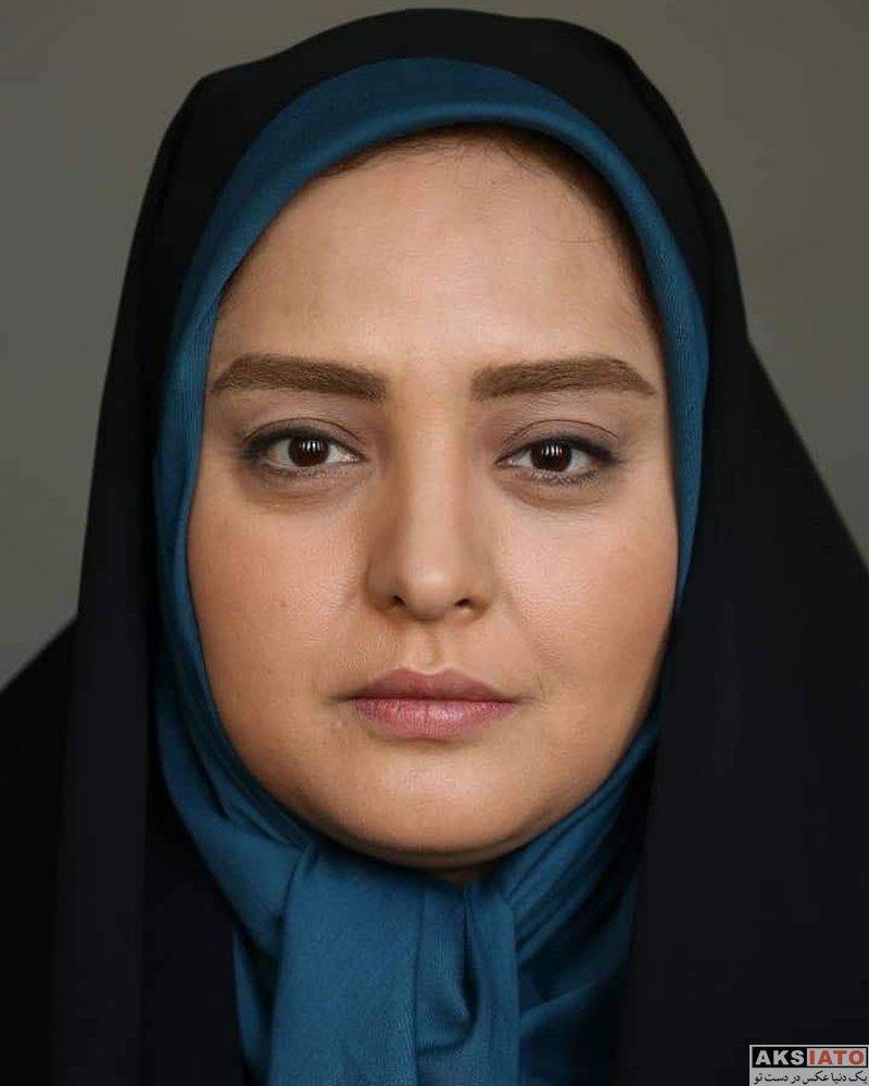 بازیگران بازیگران زن ایرانی  نرگس محمدی در پشت صحنه سریال ستایش 3 (6 عکس)