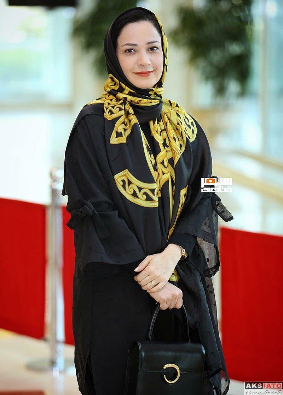 بازیگران بازیگران زن ایرانی جشن حافظ  نسرین نصرتی در هجدهمین جشن حافظ ۹۷ (۲ عکس)