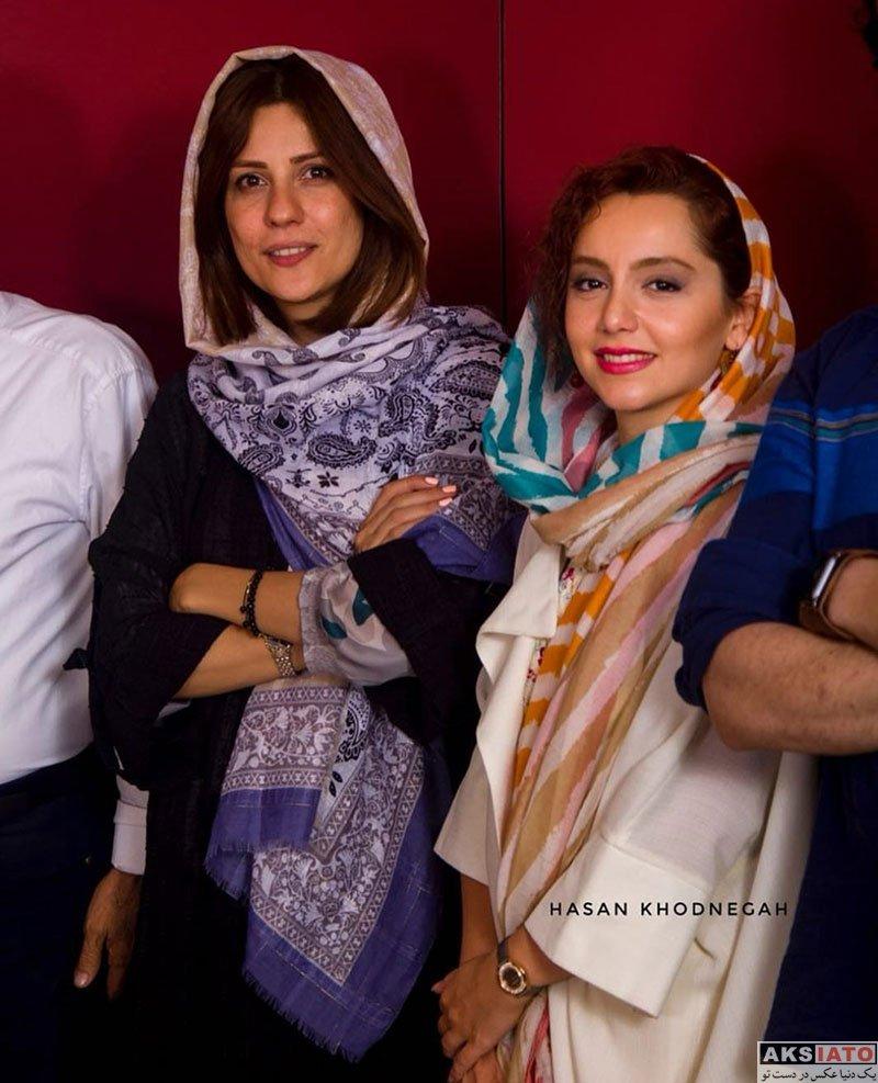 بازیگران بازیگران زن ایرانی  نازنین بیاتی در کنسرت کاوه آفاق (5 عکس)