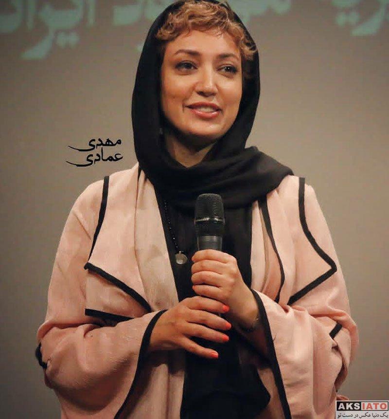 بازیگران بازیگران زن ایرانی  نگار عابدی در جشن خیریه موعود ایرانیان (4 عکس)