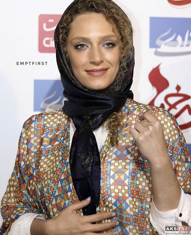 بازیگران بازیگران زن ایرانی  نگین معتضدی در اکران مردمی فیلم دم سرخ ها (4 عکس)