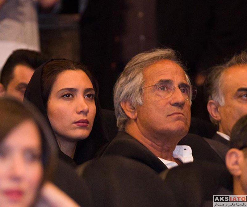 بازیگران بازیگران زن ایرانی  نیکی مظفری در بزرگداشت بیستمین جشن سینمای ایران (4 عکس)