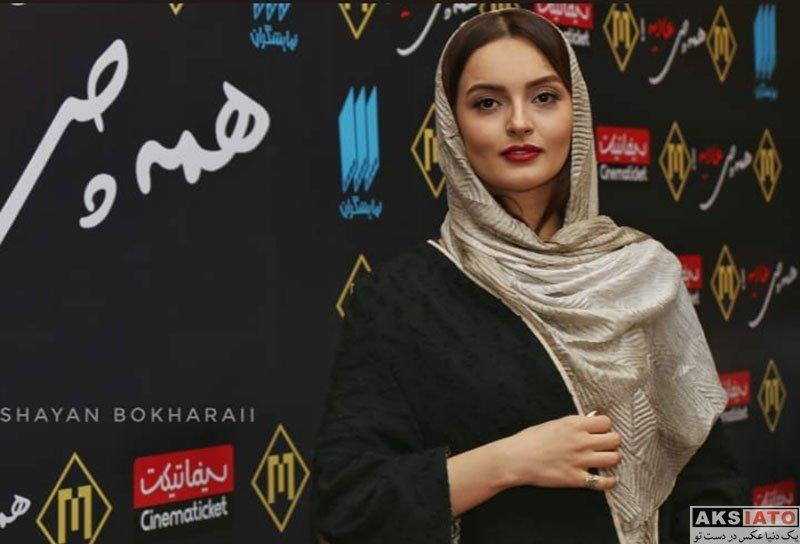 بازیگران بازیگران زن ایرانی  نیلوفر پارسا در اکران خصوصی فیلم همه چی عادیه (۶ عکس)