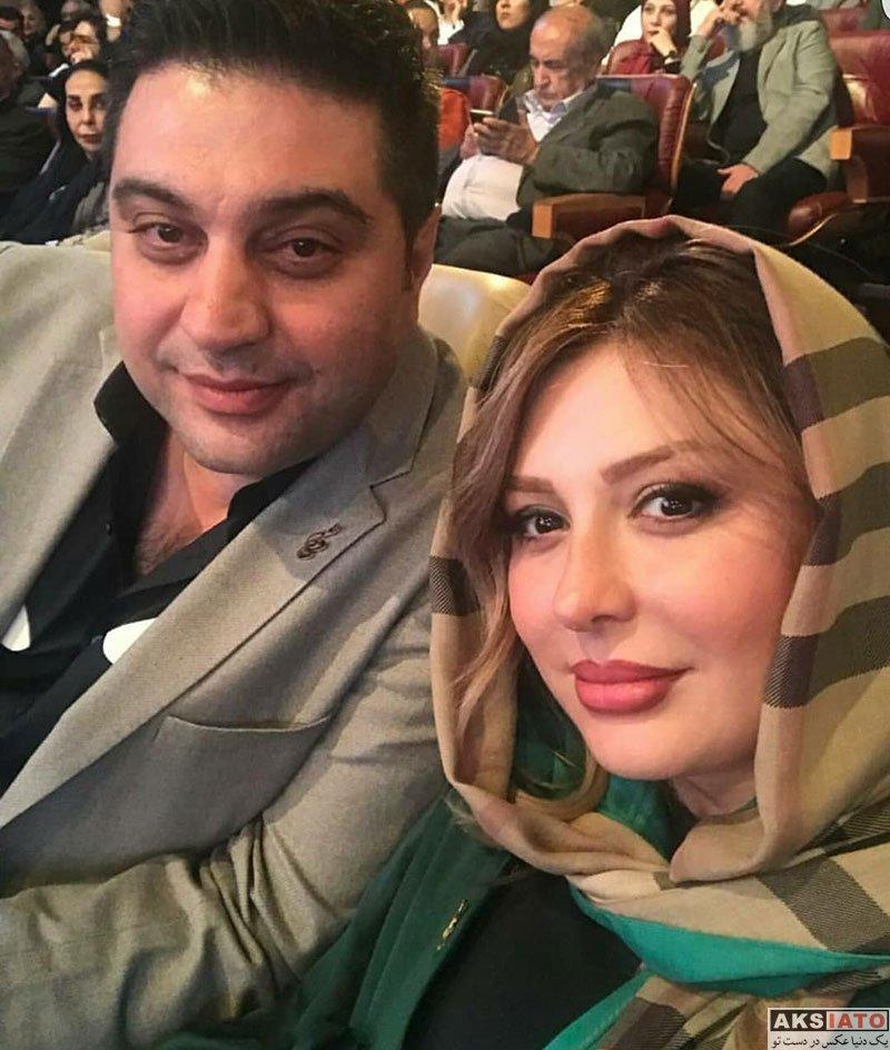 بازیگران بازیگران زن ایرانی جشن حافظ  نیوشا ضیغمی و همسرش در هجدهمین جشن حافظ ۹۷ (3 عکس)