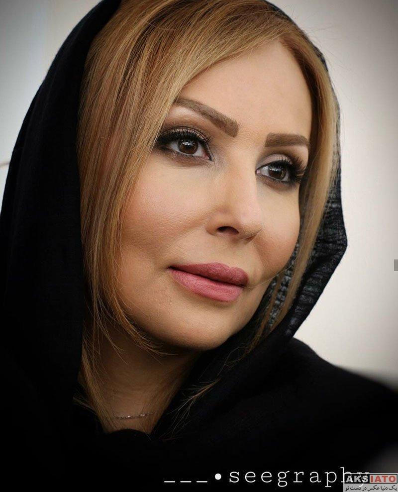 بازیگران بازیگران زن ایرانی  پرستو صالحی در افتتاحیه شعبه ۳ سالن زیبایی شیمر (4 عکس)