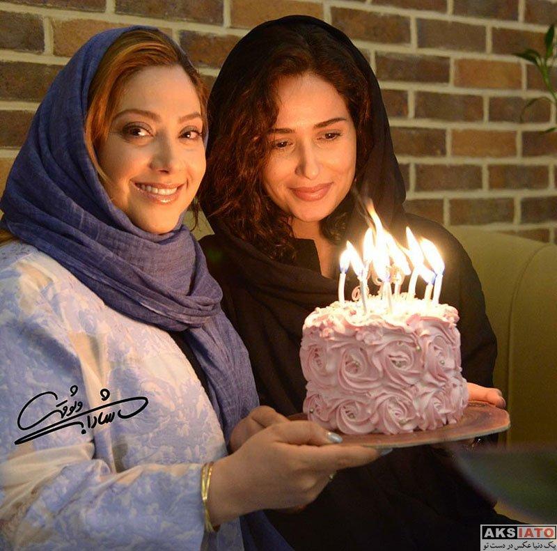 بازیگران بازیگران زن ایرانی جشن تولد ها  جشن تولد 33 سالگی پریناز ایزدیار در کنار دوستانش (6 عکس)