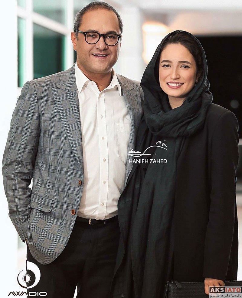 بازیگران بازیگران زن ایرانی خانوادگی  رامبد جوان و همسرش در کنسرت مهران مدیری (4 عکس)