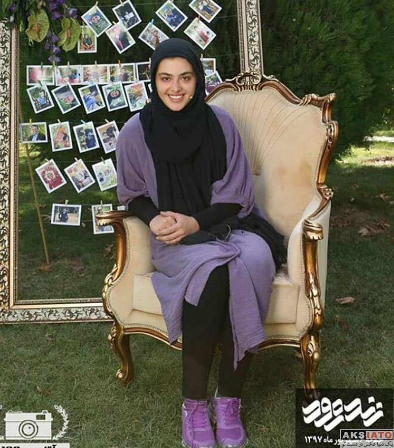 بازیگران بازیگران زن ایرانی  ریحانه پارسا بازیگر سریال پدر در برنامه زنده رود (6 عکس)