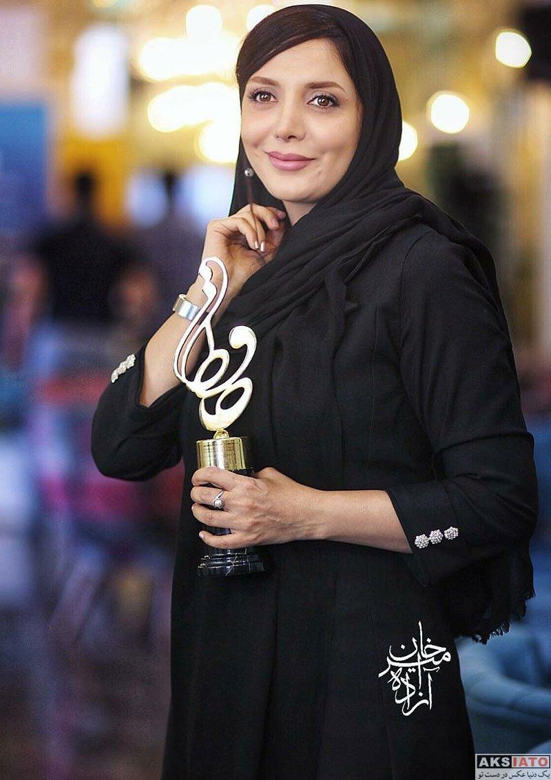 بازیگران بازیگران زن ایرانی جشن حافظ  رویا میرعلمی در هجدهمین جشن حافظ ۹۷ (۴ عکس)