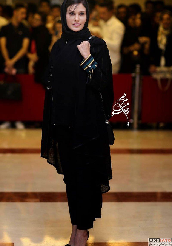 بازیگران بازیگران زن ایرانی جشن حافظ  رز رضوی در هجدهمین جشن حافظ ۹۷ (2 عکس)