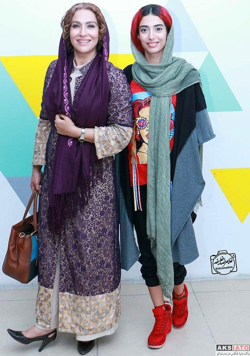 بازیگران بازیگران زن ایرانی  ساغر عزیزی و دخترش در اکران فیلم داش آکل (4 عکس)