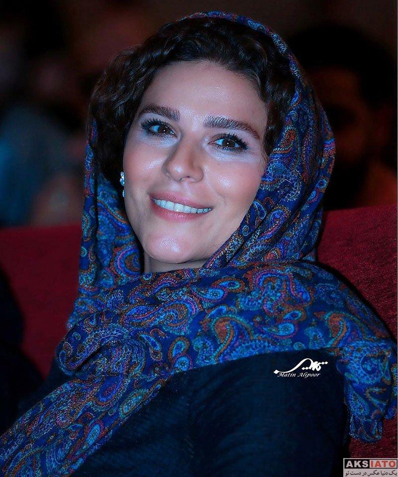 بازیگران بازیگران زن ایرانی  سحر دولتشاهی در مراسم رونمایی از آلبوم ایران من (4 عکس)