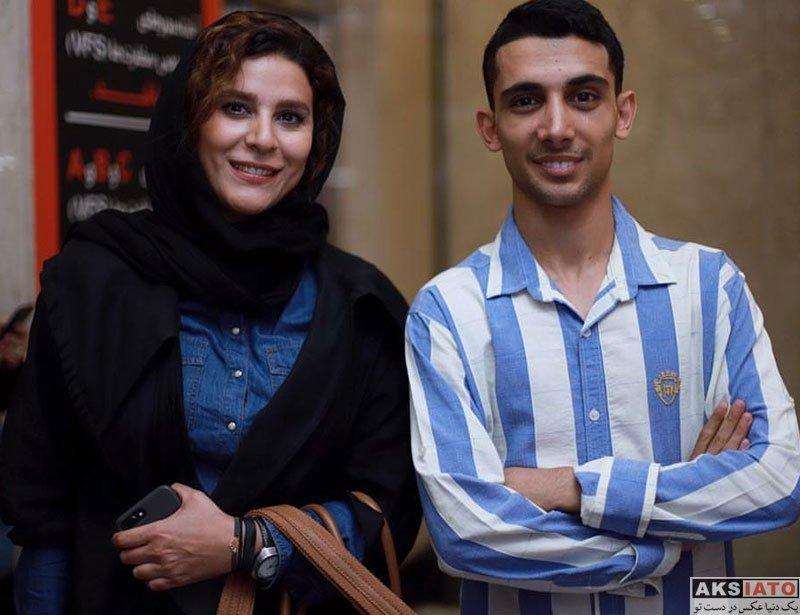 بازیگران بازیگران زن ایرانی  سحر دولتشاهی در افتتاحیه شعبه ۳ سالن زیبایی شیمر (4 عکس)