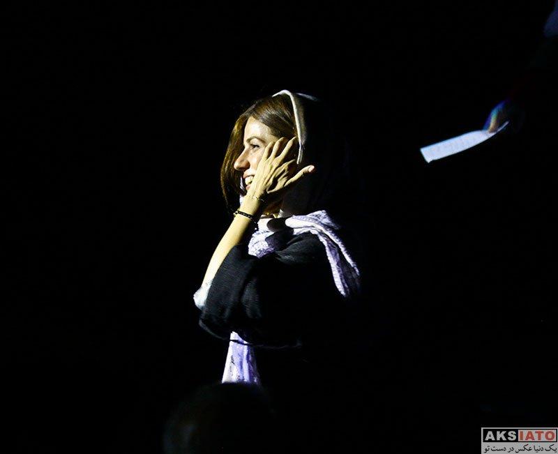 بازیگران بازیگران زن ایرانی  سارا بهرامی در کنسرت کاوه آفاق (4 عکس)