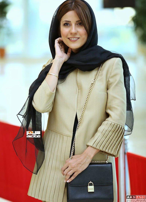 بازیگران بازیگران زن ایرانی جشن حافظ  سارا بهرامی در هجدهمین جشن حافظ ۹۷ (3 عکس)
