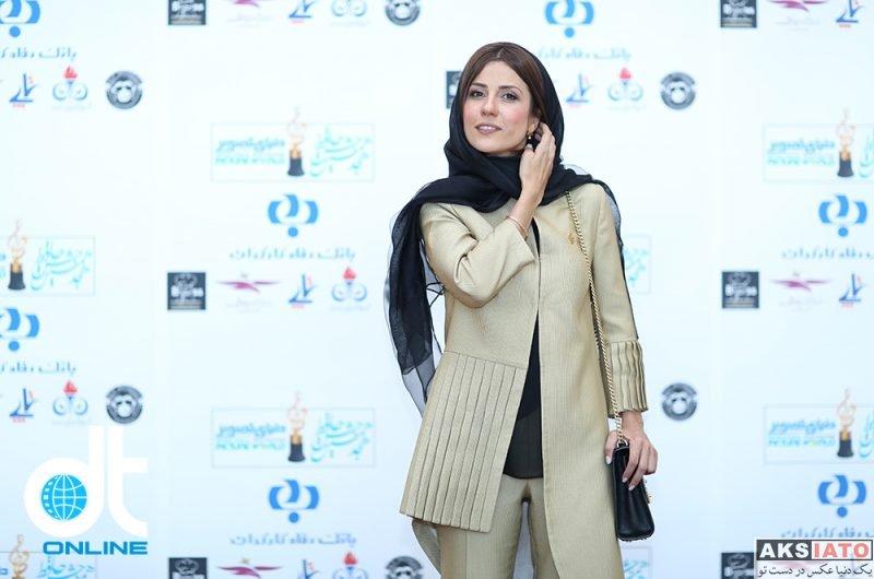 بازیگران بازیگران زن ایرانی جشن حافظ  سارا بهرامی در هجدهمین جشن حافظ ۹۷ (4 عکس)