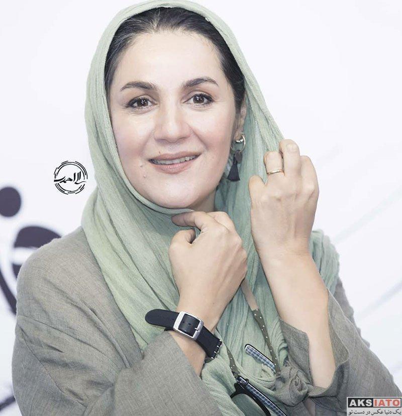 بازیگران بازیگران زن ایرانی  ستاره اسکندری در اکران فیلم راه رفتن روی سیم (4 عکس)