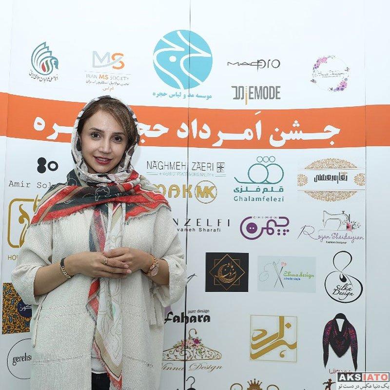 بازیگران بازیگران زن ایرانی  شبنم قلی خانی در جشن امرداد حجره (۴ عکس)