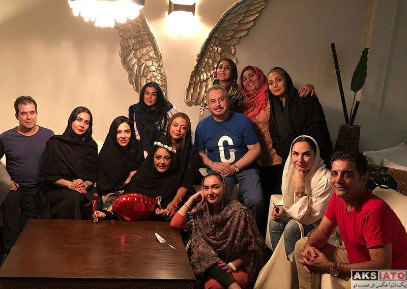 بازیگران بازیگران زن ایرانی جشن تولد ها  جشن تولد شقایق فراهانی در کنار دوستانش (4 عکس)