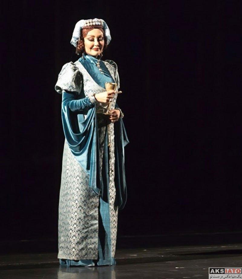 بازیگران بازیگران زن ایرانی  شقایق فراهانی با گریم متفاوت در نمایش ریچارد (6 عکس)