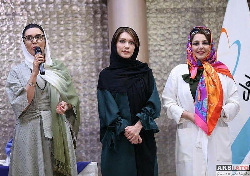 بازیگران بازیگران زن ایرانی  شهرزاد کمال زاده در جشن تولد ۲۴ سالگی همراه اول (4 عکس)