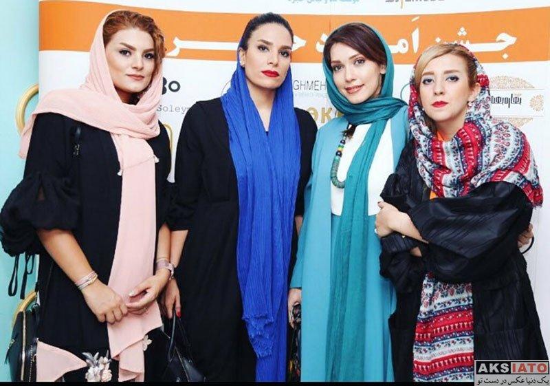 بازیگران بازیگران زن ایرانی  شهرزاد کمال زاده در جشن امرداد حجره (4 عکس)
