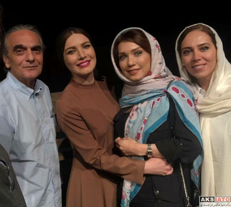 بازیگران بازیگران زن ایرانی  شهرزاد کمال زاده در اجرای نمایش فصل شکار بادبادک ها (3 عکس)