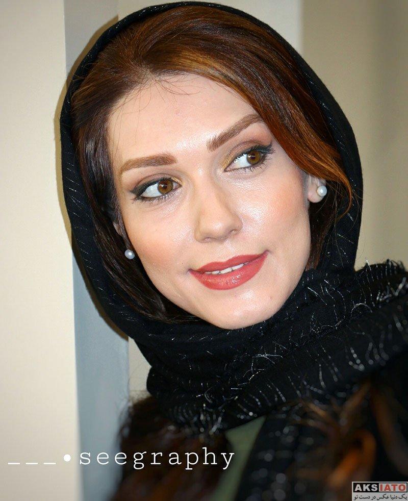بازیگران بازیگران زن ایرانی  شهرزاد کمال زاده در افتتاحیه شعبه ۳ سالن زیبایی شیمر (6 عکس)