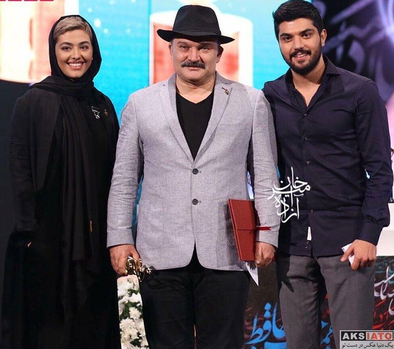 بازیگران بازیگران زن ایرانی جشن حافظ  سینا مهراد در هجدهمین جشن حافظ ۹۷ (4 عکس)