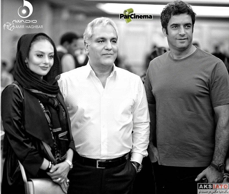 بازیگران بازیگران زن ایرانی خانوادگی  یکتا ناصر و همسرش در کنسرت مهران مدیری (3 عکس)