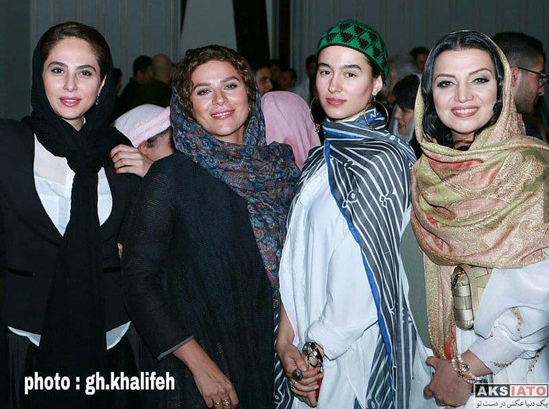 بازیگران بازیگران زن ایرانی  الهام پاوه نژاد در مراسم رونمایی از آلبوم ایران من (۴ عکس)