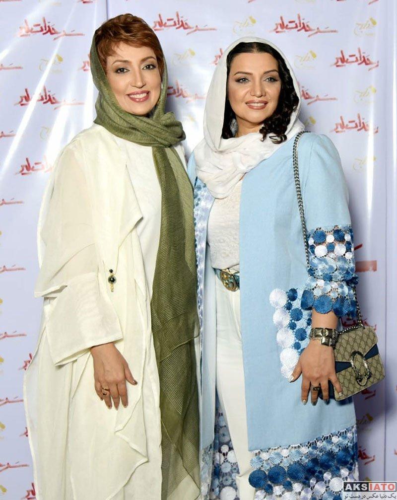 بازیگران بازیگران زن ایرانی  الهام پاوه نژاد در مراسم افتتاحیه نمایش سرحدات لیر (۳ عکس)