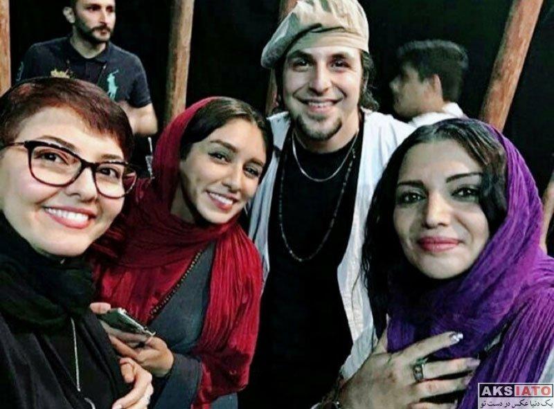 بازیگران بازیگران زن ایرانی  الهام پاوه نژاد در اجرای نمایش چهارمین شنبه (4 عکس)