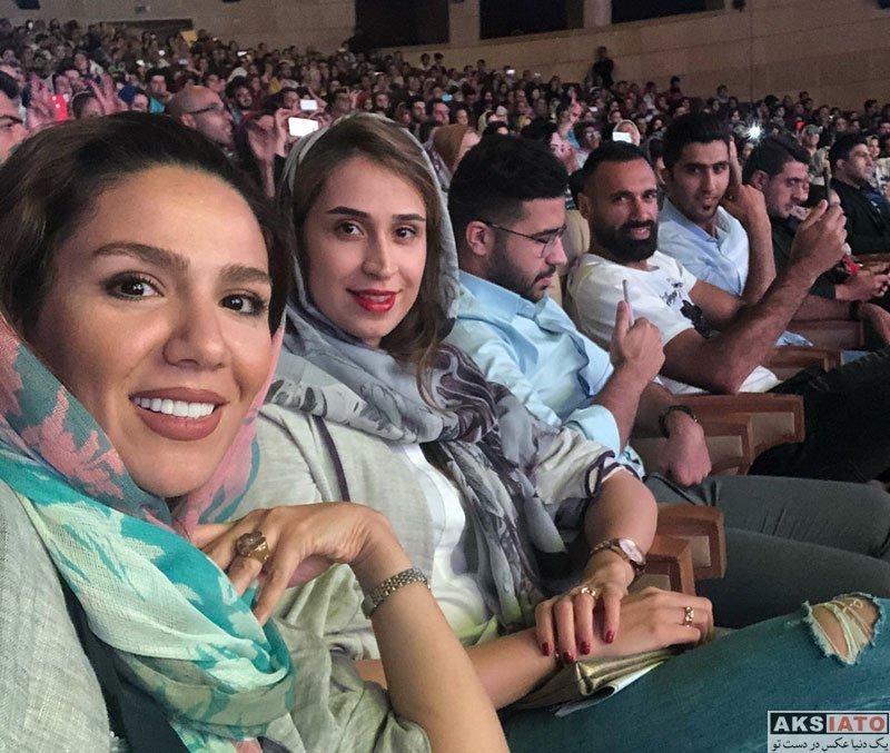 ورزشکاران ورزشکاران مرد  عادل غلامی و همسرش در کنسرت علیرضا طلیسچی (3 عکس)