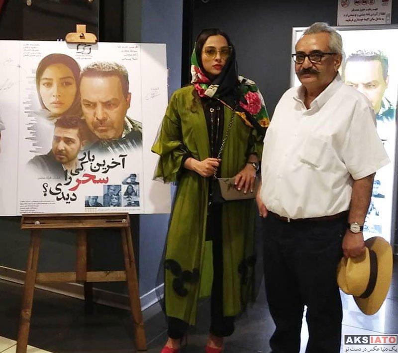 بازیگران بازیگران زن ایرانی  آناهیتا درگاهی در اکران فیلم آخرین بار کی سحر را دیدی (4 عکس)