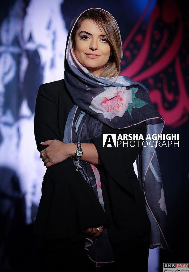 بازیگران بازیگران زن ایرانی  دنیا مدنی در اکران خصوصی فیلم شعله ور (4 عکس)