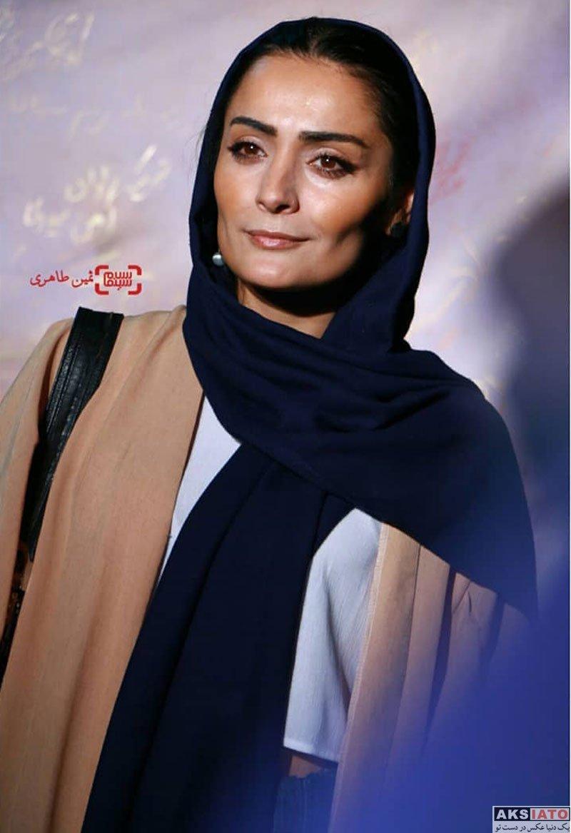 بازیگران بازیگران زن ایرانی  السا فیروز آذر در اکران خصوصی فیلم شعله ور (4 عکس)