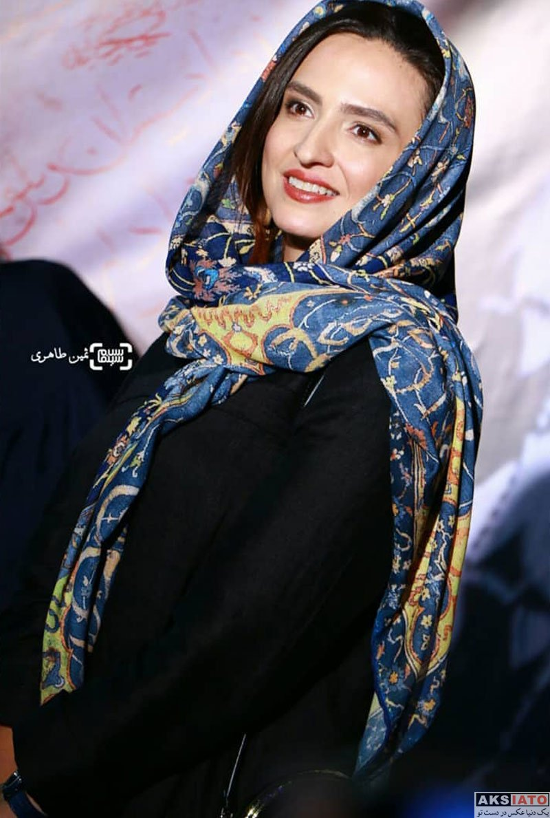 بازیگران بازیگران زن ایرانی  گلاره عباسی در اکران خصوصی فیلم شعله ور (4 عکس)