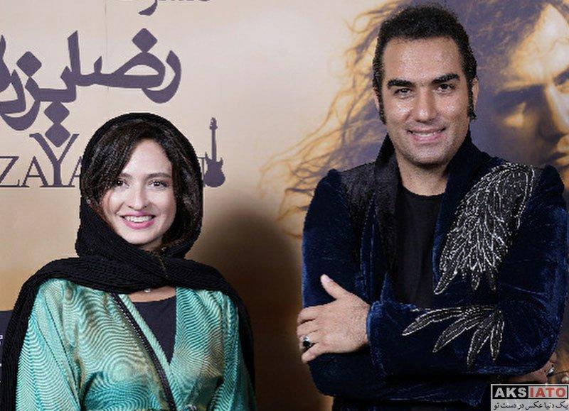 بازیگران بازیگران زن ایرانی  گلاره عباسی در کنسرت رضا یزدانی (3 عکس)